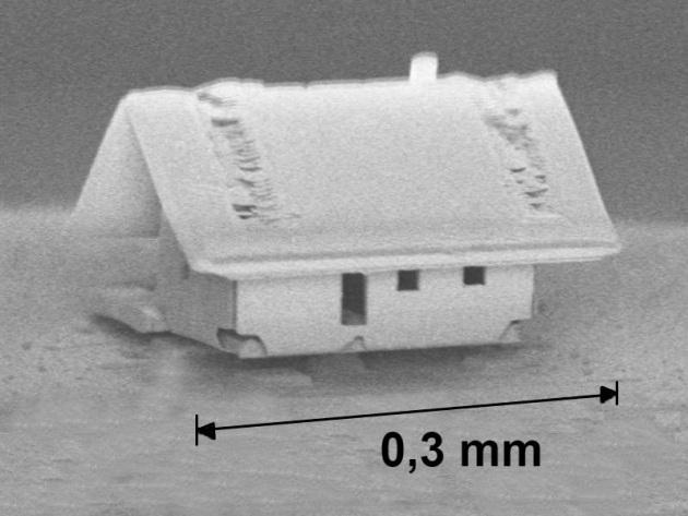 La casa più piccola al mondo costruita con la nanotecnologia